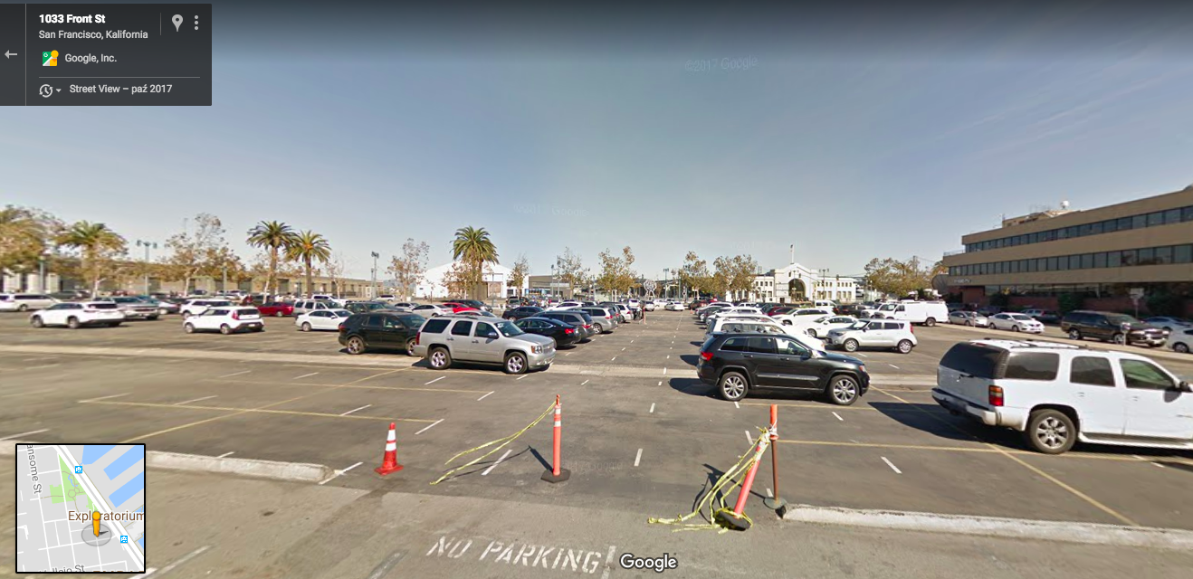 Google maps - parking
